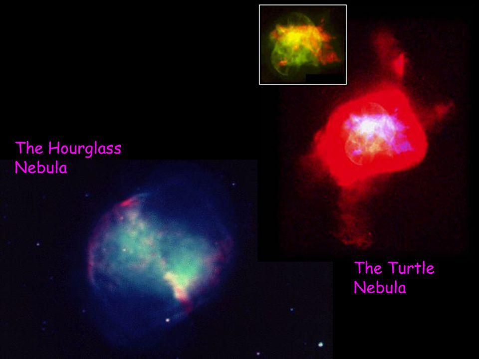 The Hourglass Nebula The Turtle Nebula