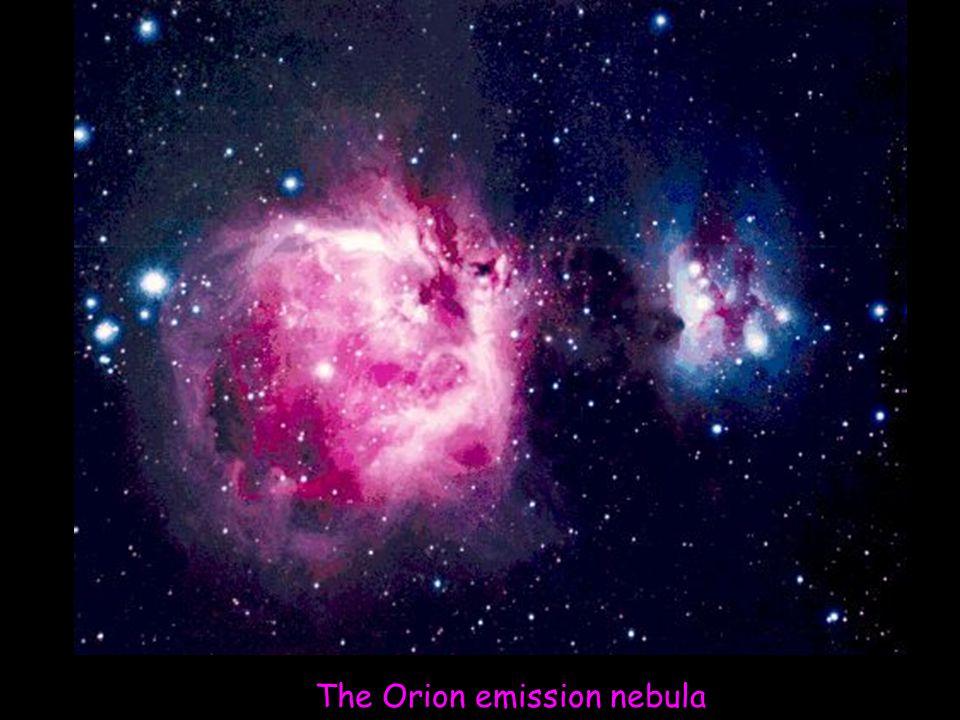 The Orion emission nebula