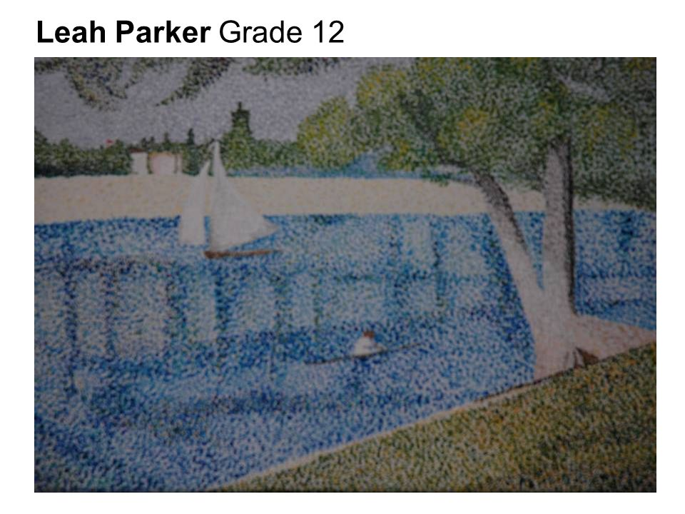 Leah Parker Grade 12