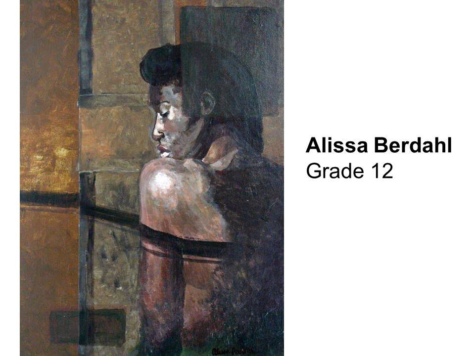 Alissa Berdahl Grade 12