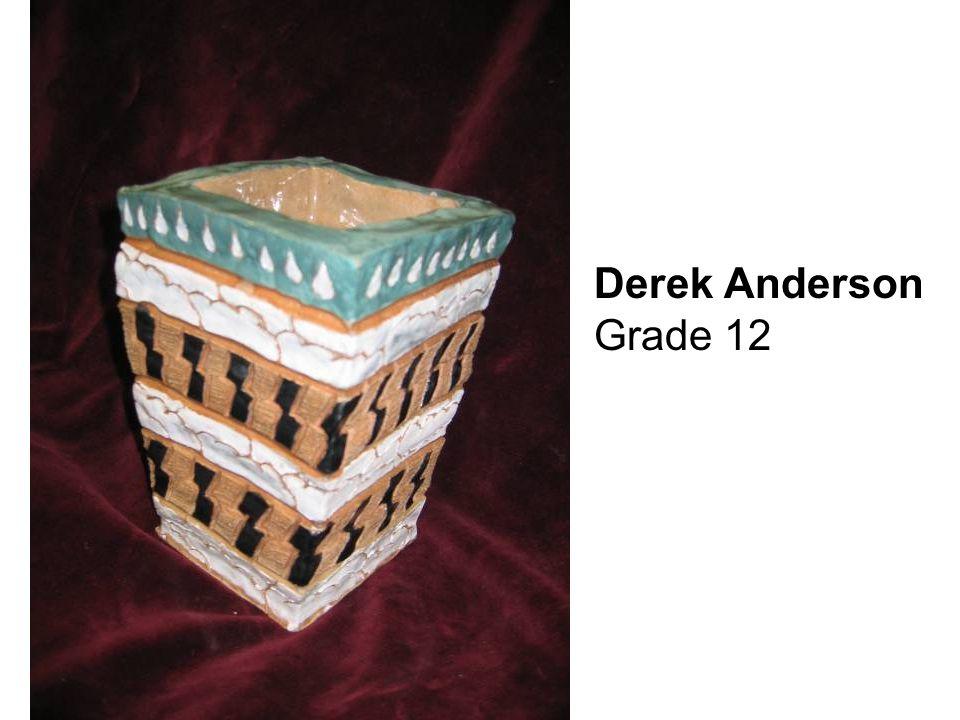 Derek Anderson Grade 12