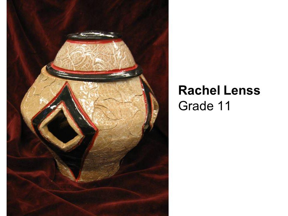 Rachel Lenss Grade 11