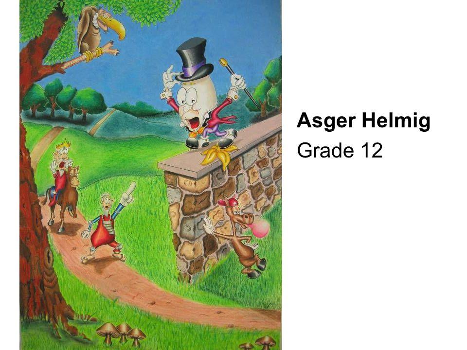Asger Helmig Grade 12