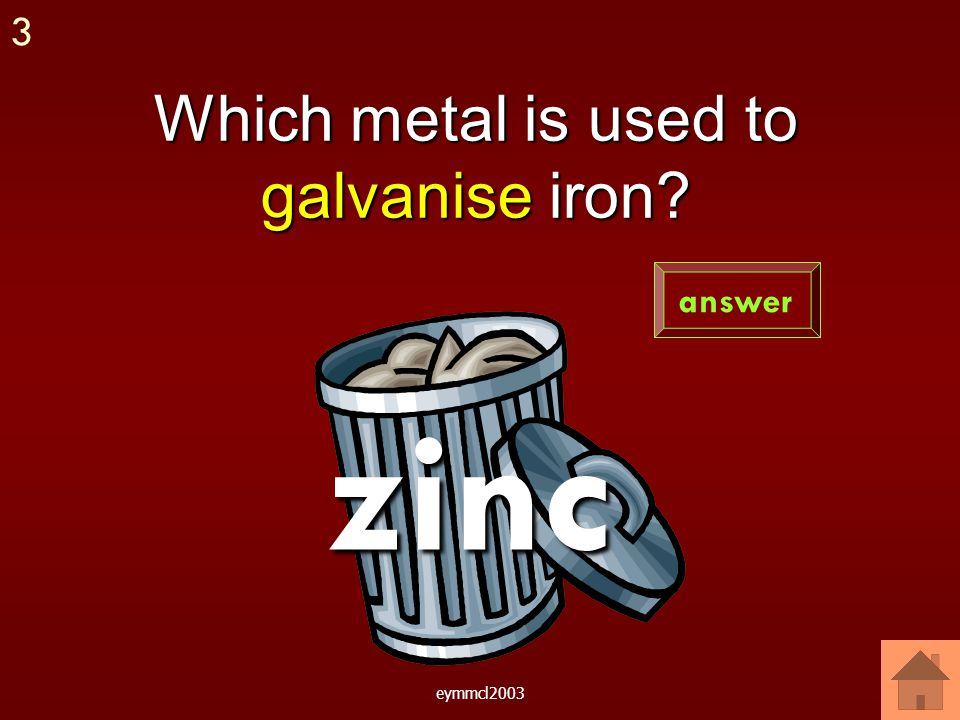 eymmcl2003 From magnesium to iron answer 2 Magnesium provides iron with sacrificial protection.