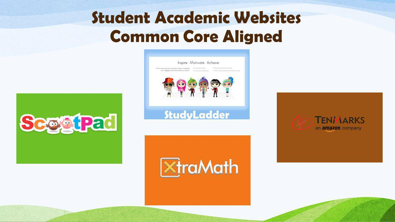 Student Academic Websites Common Core Aligned StudyLadder