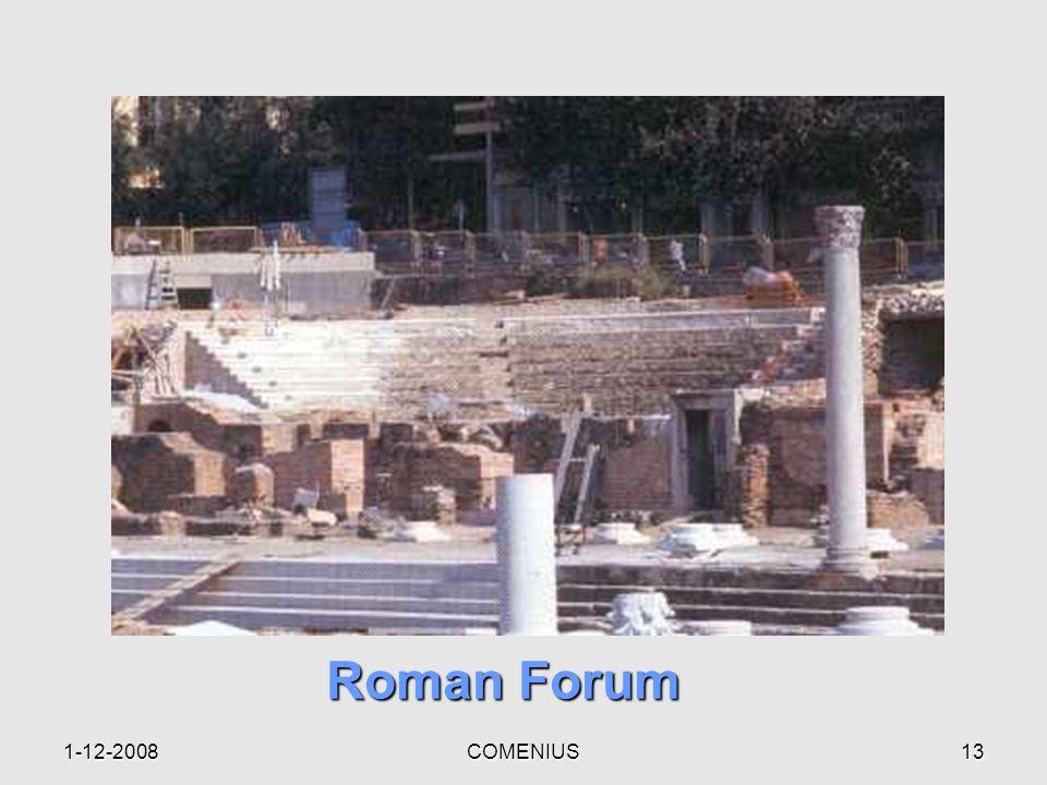 1-12-2008COMENIUS12 Galerius' Palace