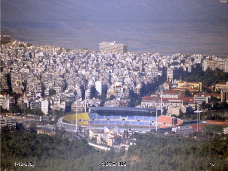1-12-2008COMENIUS47 Thessaloniki City of thousands of faces