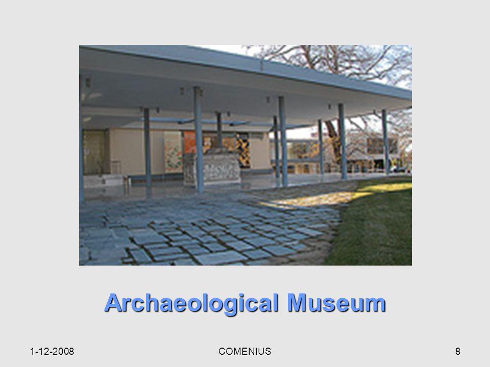 1-12-2008COMENIUS8 Archaeological Museum