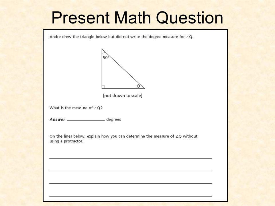 Present Math Question