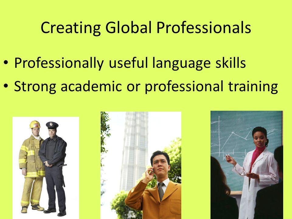 Goals Create a replicable model of K-16 global education Develop Flagship-ready high school graduates Develop professionally prepared college graduates