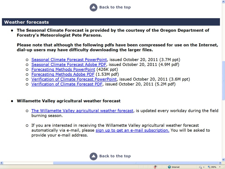 Winter 2011-12 Forecast Above average temperatures early.
