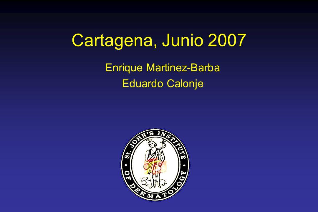 Cartagena, Junio 2007 Enrique Martinez-Barba Eduardo Calonje