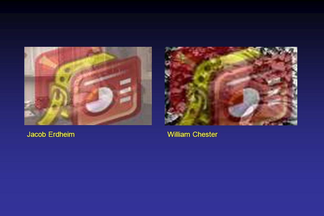 Jacob ErdheimWilliam Chester