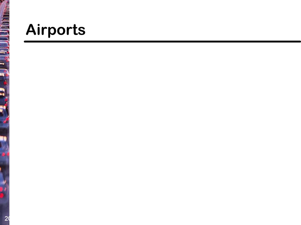 20 Airports