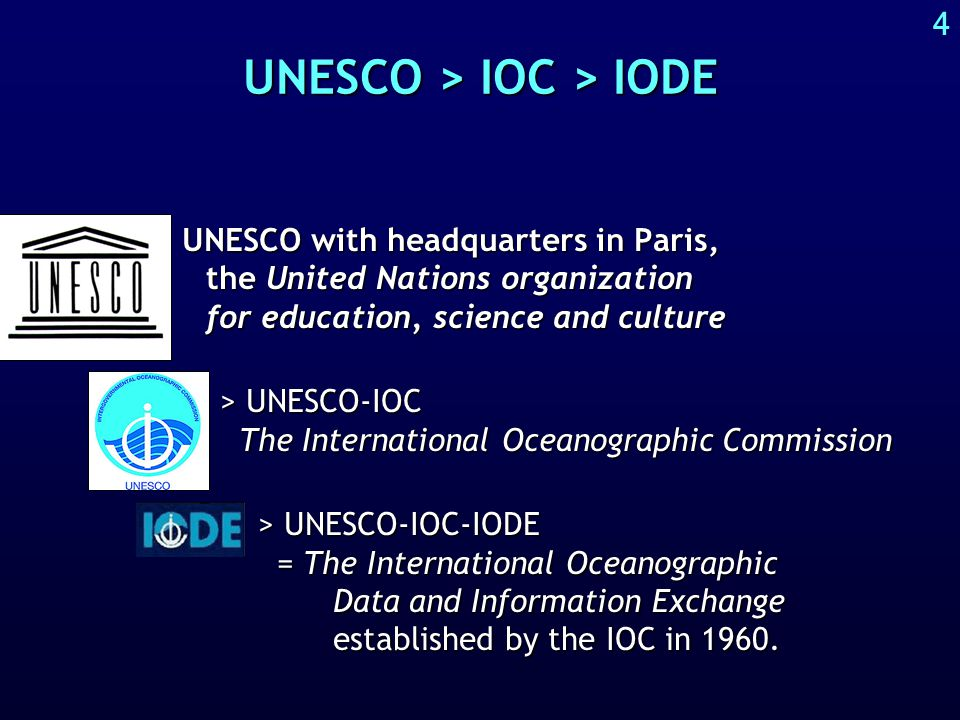 About UNESCO-IOC-IODE