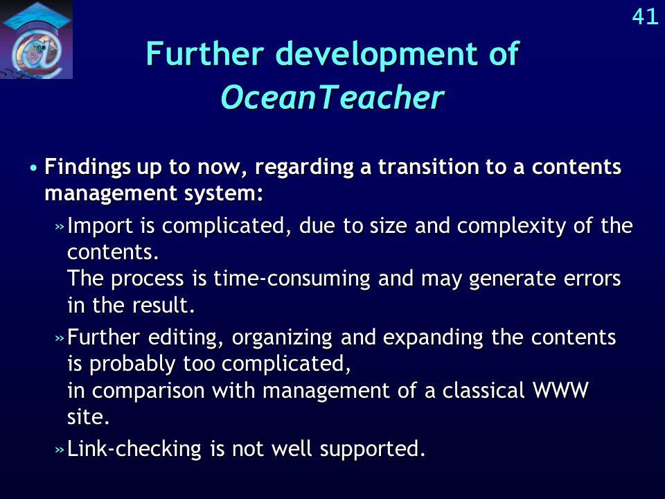 40 UNESCO-IOC-IODE OceanTeacher www site