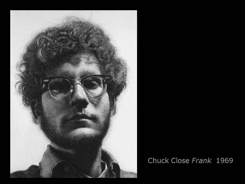 Chuck Close Frank 1969