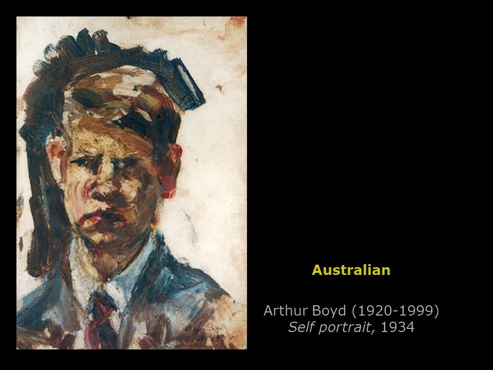 Arthur Boyd (1920-1999) Self portrait, 1934 Australian