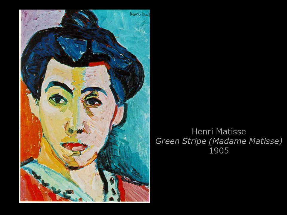 Henri Matisse Green Stripe (Madame Matisse) 1905