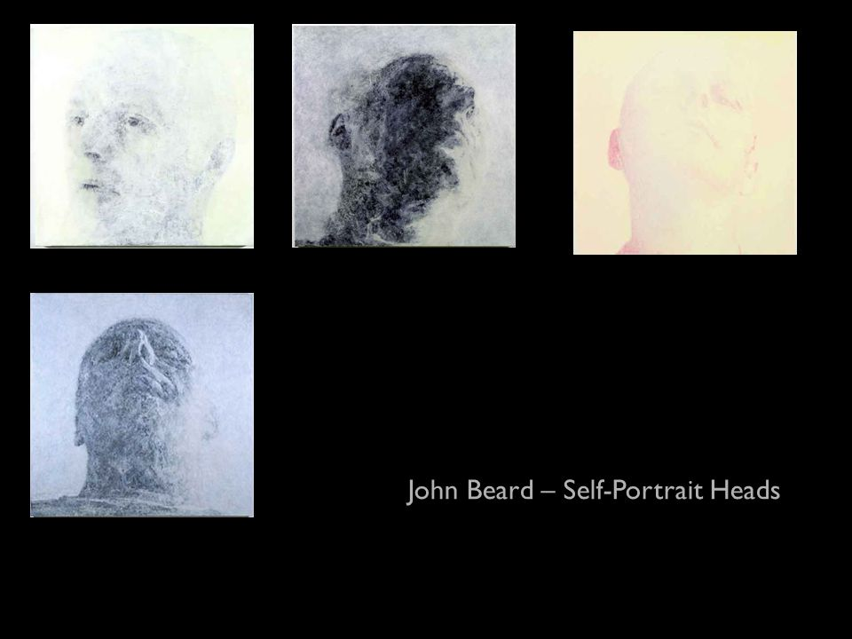 John Beard – Self-Portrait Heads