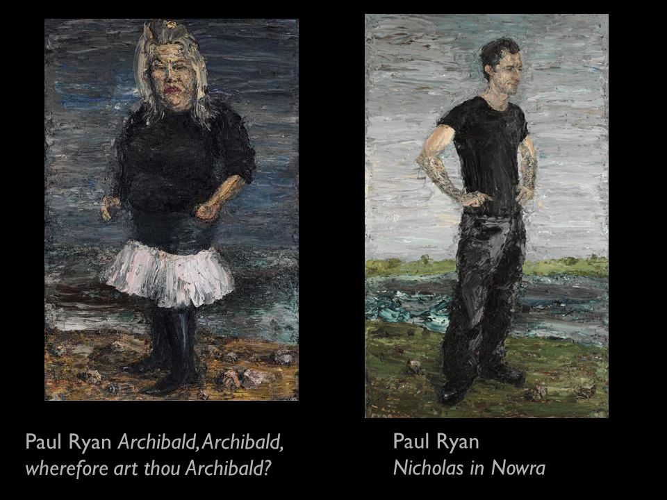 Paul Ryan Archibald, Archibald, wherefore art thou Archibald Paul Ryan Nicholas in Nowra