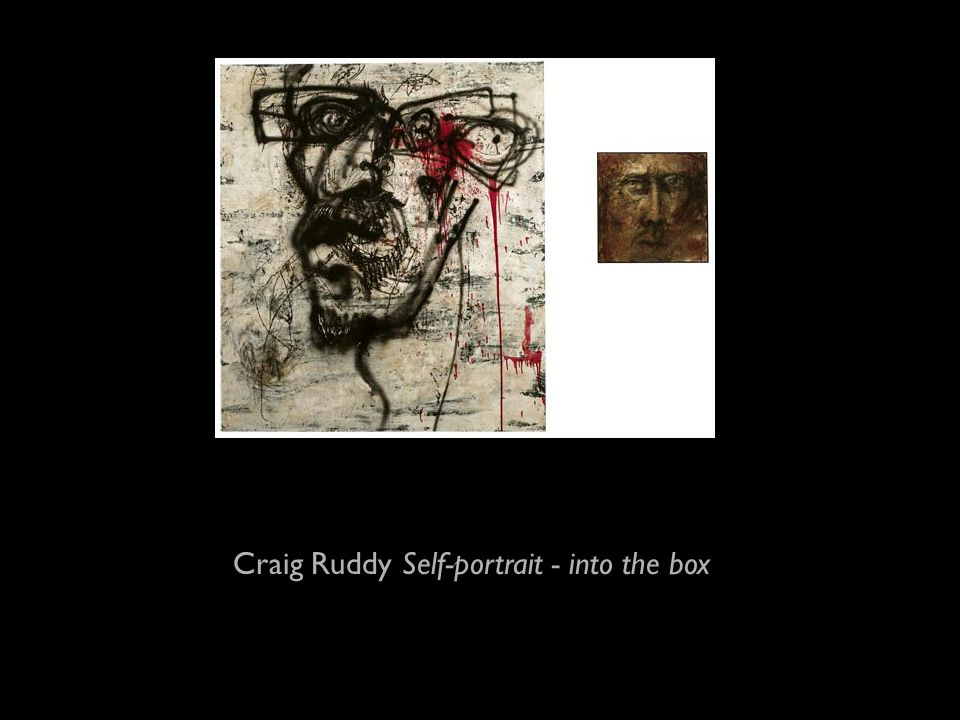 Craig Ruddy Self-portrait - into the box