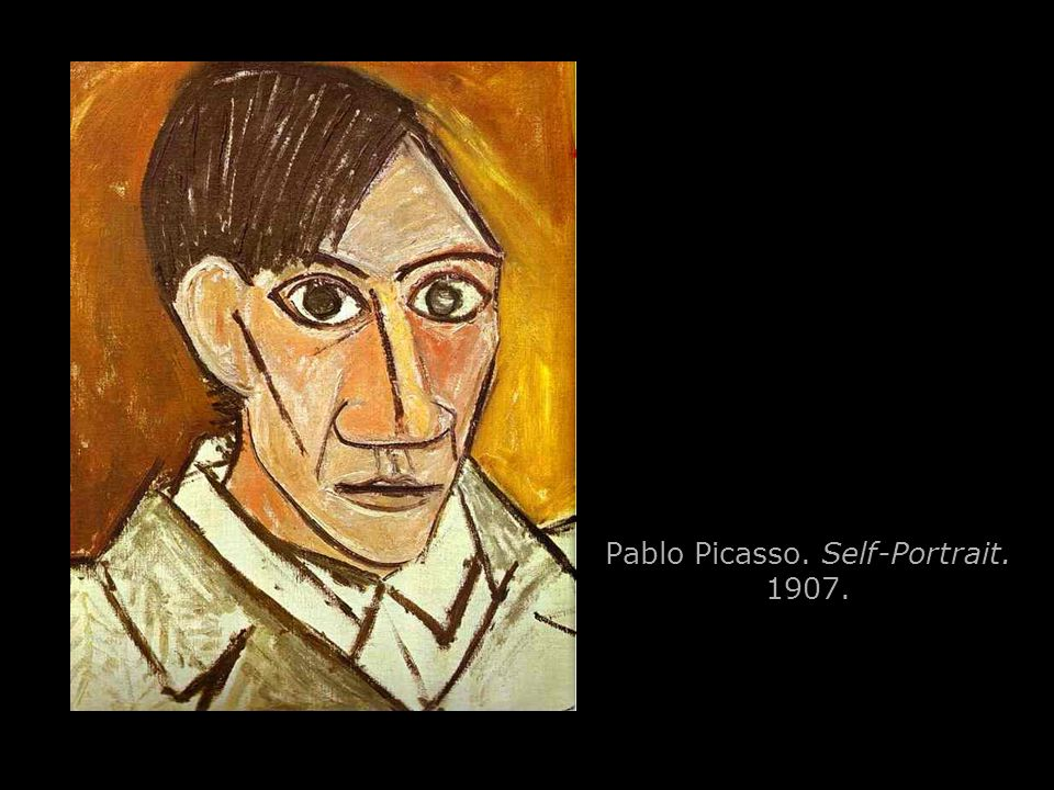 Pablo Picasso. Self-Portrait. 1907.