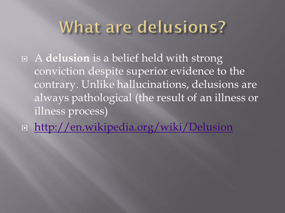 delusions  visual memory deficit  deficit in self-monitoring  deficit in self-awareness  hallucinations  deficit in executive functions  deficit in cognitive flexibility  history of seizure activity  epileptogenic activity  http://en.wikipedia.org/wiki/Fregoli_delusion, 2012 4/12/12 http://en.wikipedia.org/wiki/Fregoli_delusion