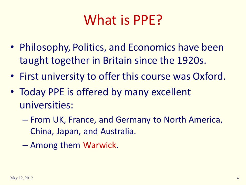 Phil core Pol core Econ coreQM Prin- ciplesOptions Leads to Year22 or 32232 and 3 Tripartite BA What does Warwick offer.