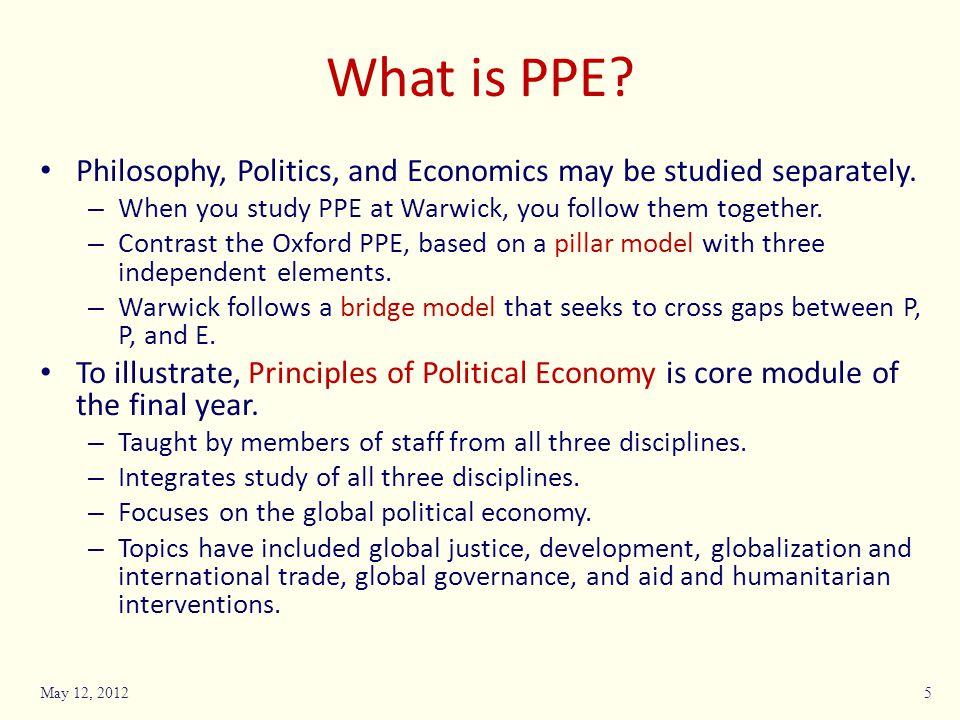 Who takes PPE.