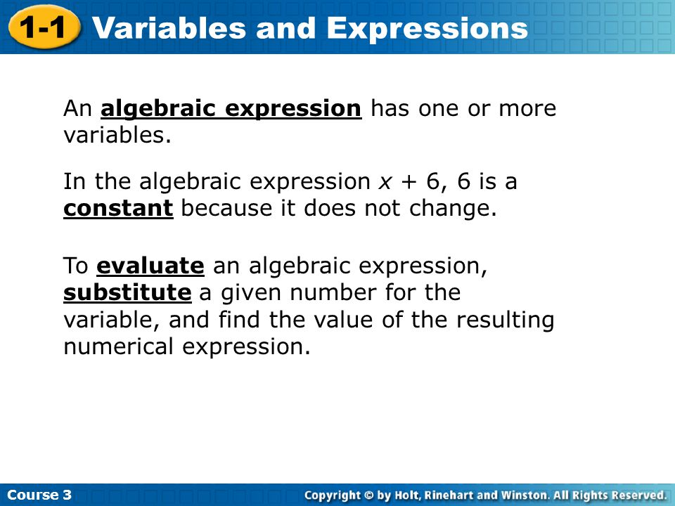 Evaluate each expression for the given value of the variable.