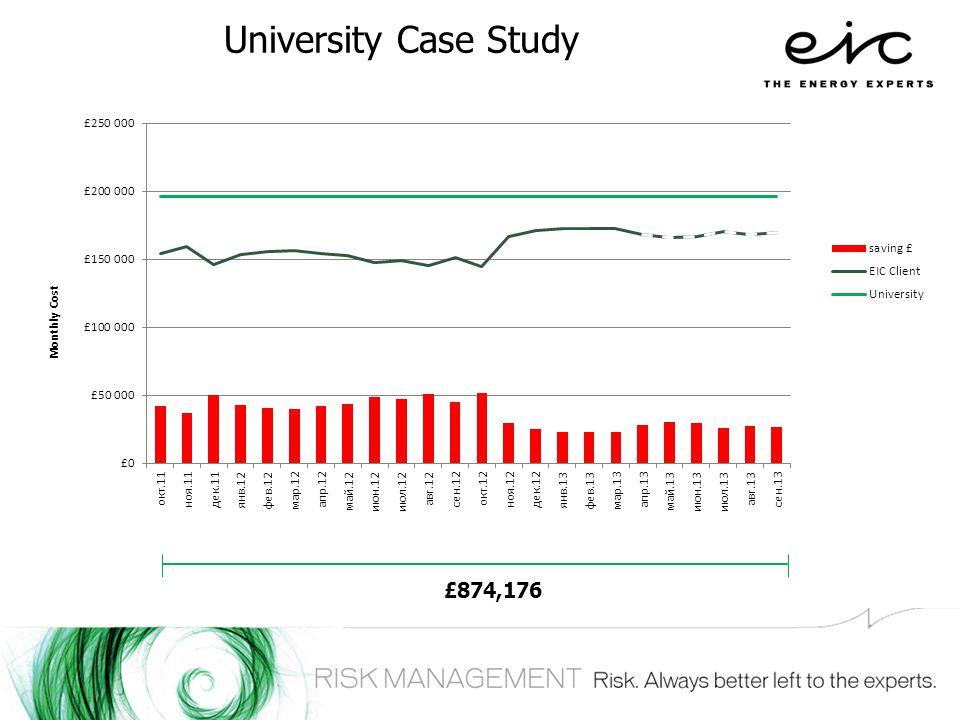 University Case Study £874,176