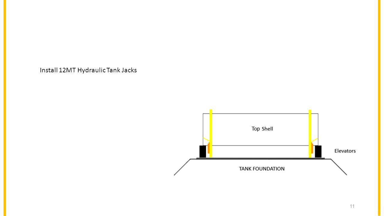 12MT Hydraulic Tank Jacks Install 12MT Hydraulic Tank Jacks 11