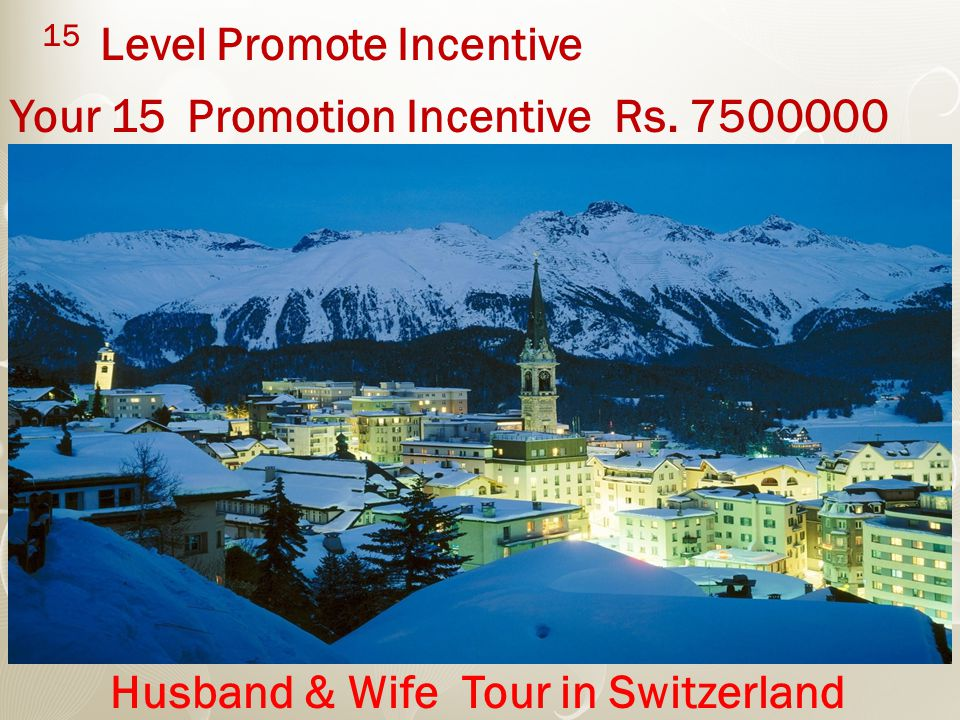 15 Level Promote Incentive Your 15 Promotion Incentive Rs.