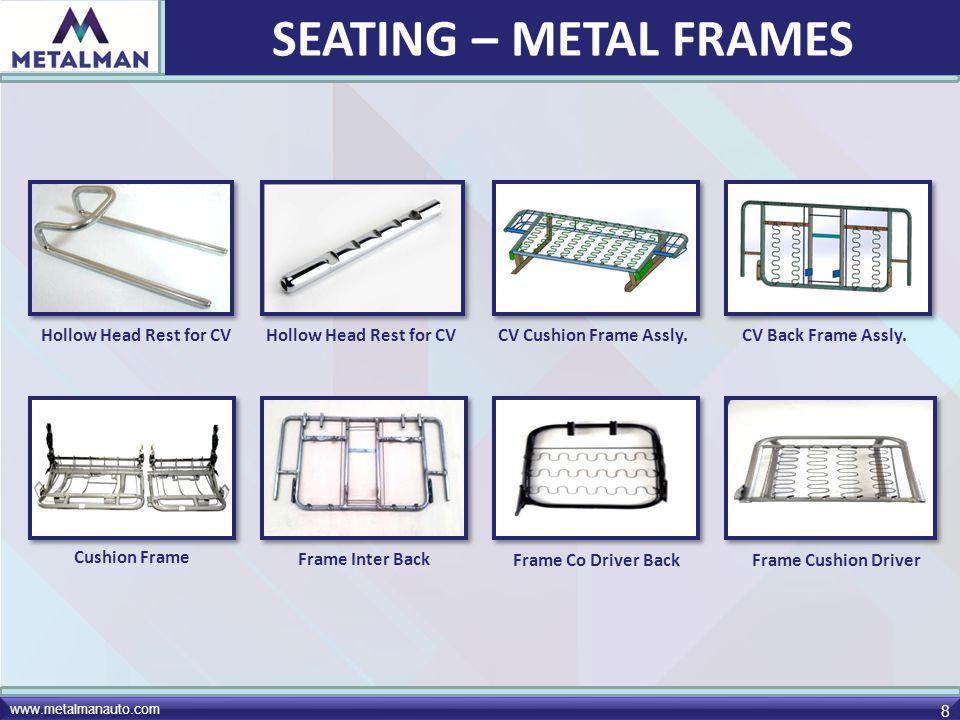 www.metalmanauto.com 29 Frame Sub- Assly.Center Stand Muffler Assly.