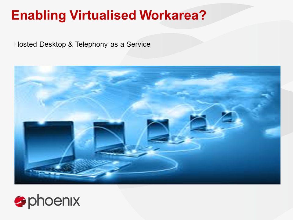 Hosted Desktop & Telephony as a Service Enabling Virtualised Workarea