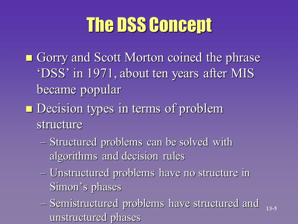 GDSS Environmental Settings n Synchronous exchange –Members meet at same time –Committee meeting is an example n Asynchronous exchange –Members meet at different times –E-mail is an example n More balanced participation.