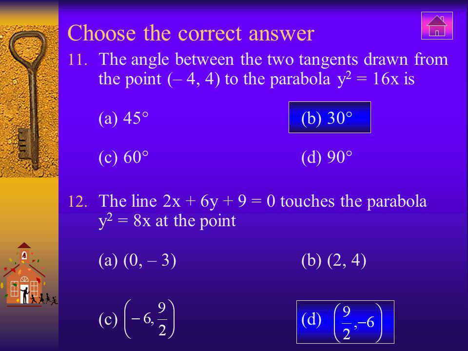 Choose the correct answer 57.