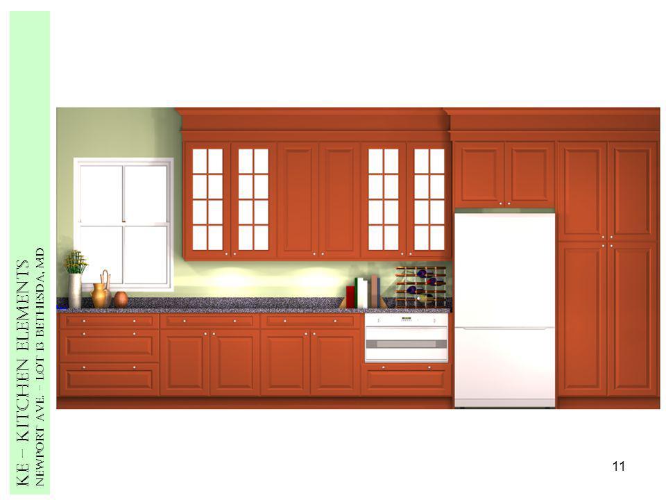11 Ke – Kitchen Elements Newport Ave. – Lot 13 Bethesda, MD