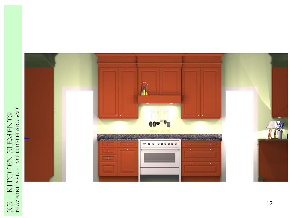 12 Ke – Kitchen Elements Newport Ave. – Lot 13 Bethesda, MD