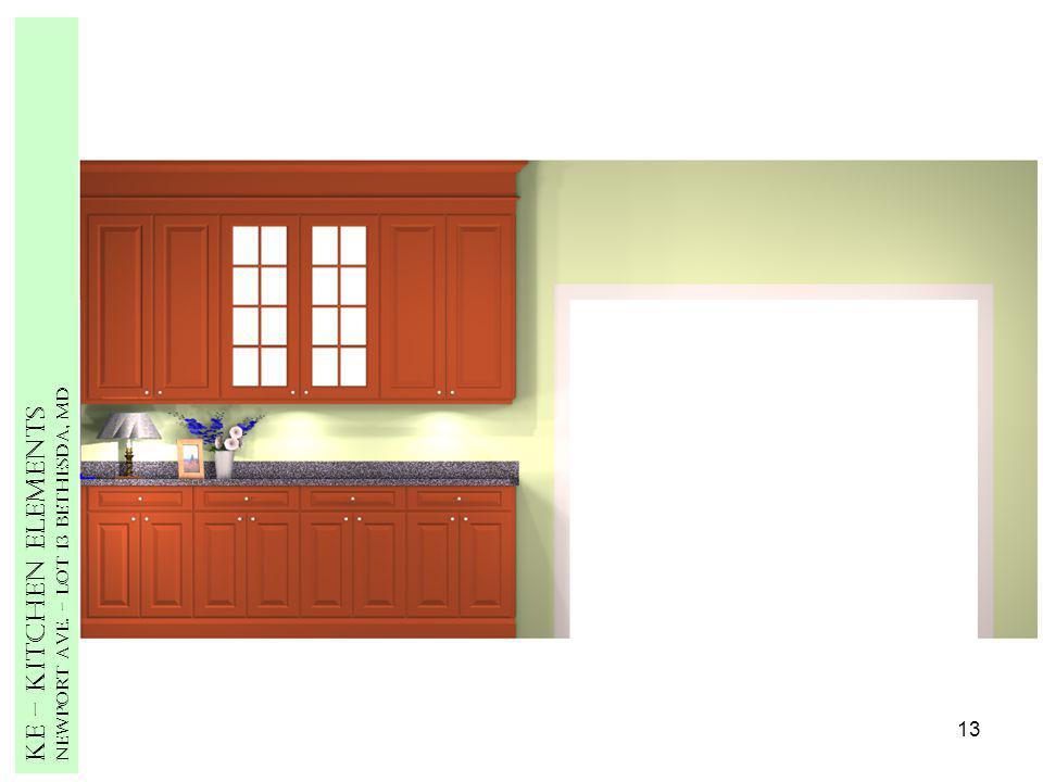 13 Ke – Kitchen Elements Newport Ave. – Lot 13 Bethesda, MD