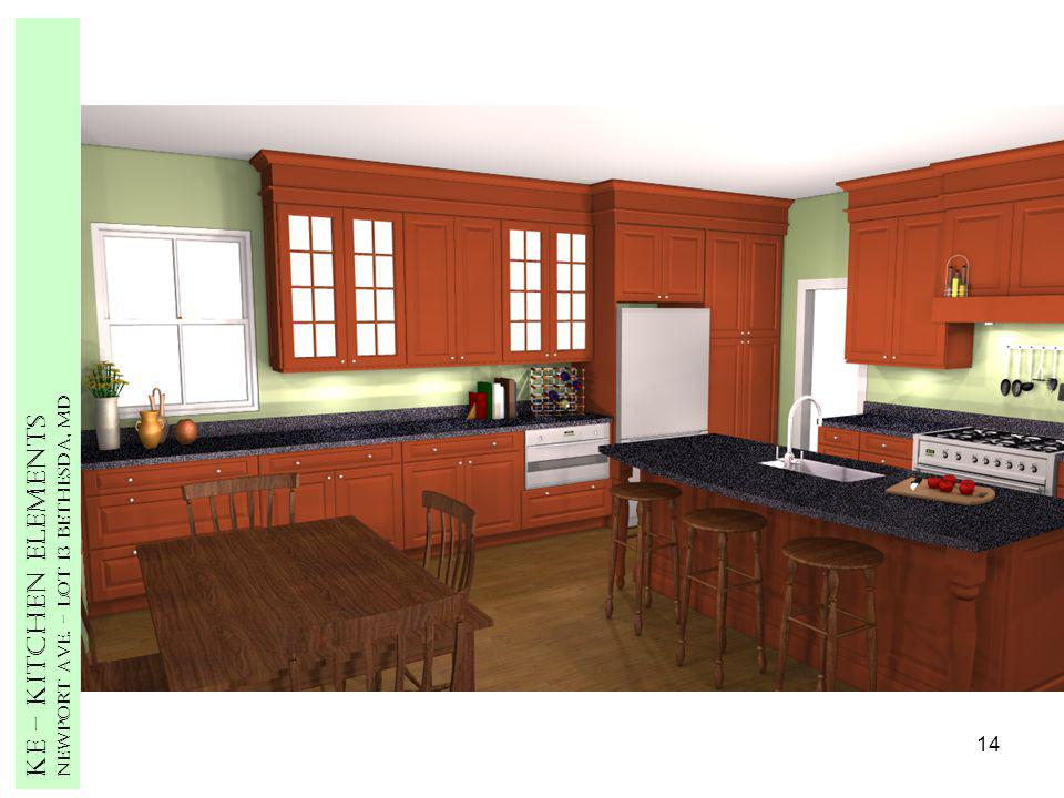 14 Ke – Kitchen Elements Newport Ave. – Lot 13 Bethesda, MD
