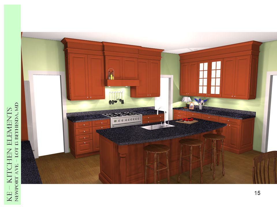 15 Ke – Kitchen Elements Newport Ave. – Lot 13 Bethesda, MD