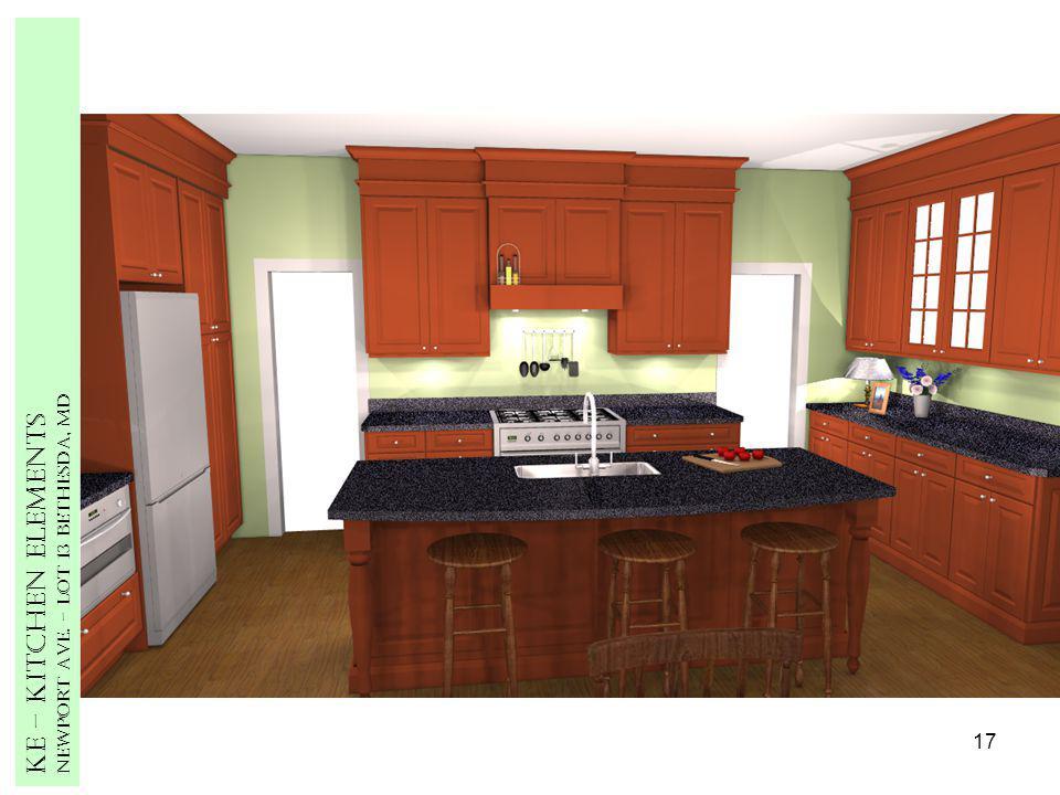 17 Ke – Kitchen Elements Newport Ave. – Lot 13 Bethesda, MD