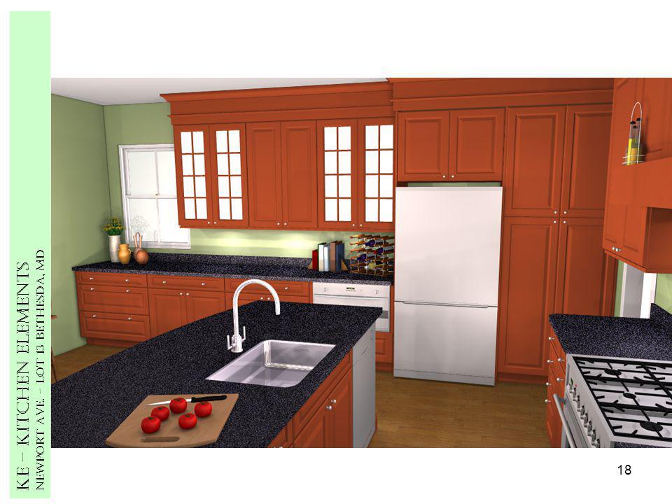 18 Ke – Kitchen Elements Newport Ave. – Lot 13 Bethesda, MD
