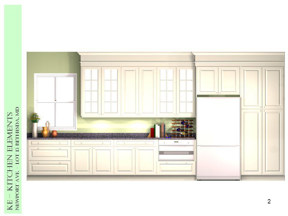 2 Ke – Kitchen Elements Newport Ave. – Lot 13 Bethesda, MD