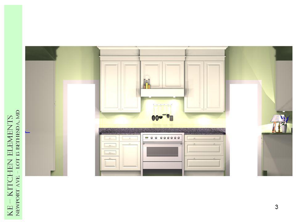 3 Ke – Kitchen Elements Newport Ave. – Lot 13 Bethesda, MD