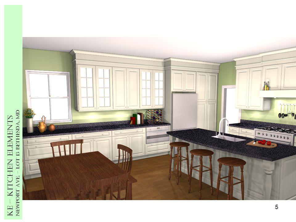 5 Ke – Kitchen Elements Newport Ave. – Lot 13 Bethesda, MD