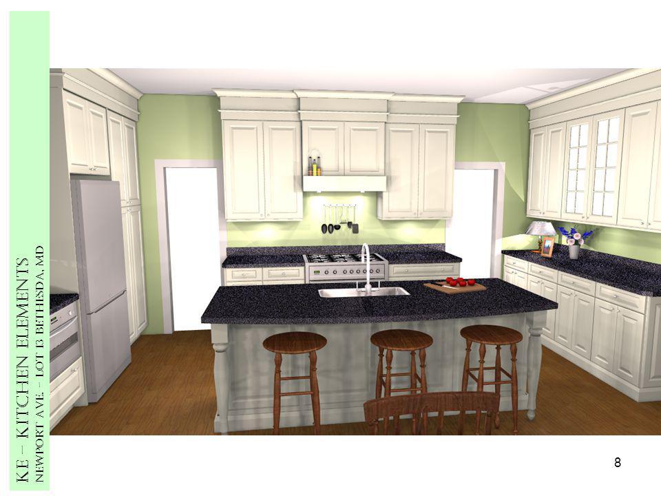 8 Ke – Kitchen Elements Newport Ave. – Lot 13 Bethesda, MD