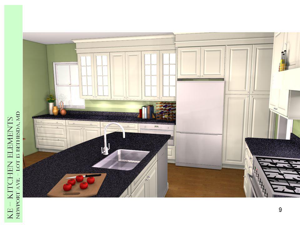 9 Ke – Kitchen Elements Newport Ave. – Lot 13 Bethesda, MD